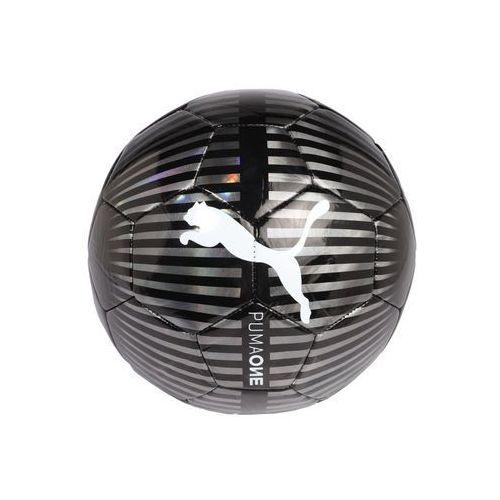 Puma ONE CHROME Piłka do piłki nożnej black/silver