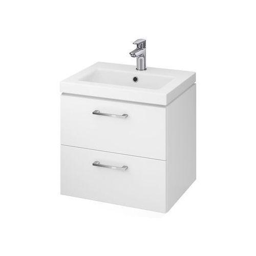 CERSANIT szafka Lara biała + umywalka Como 50 S801-146 (5902115729126)