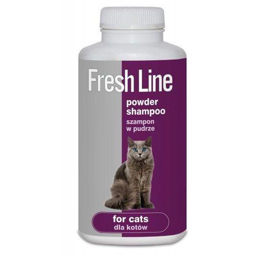 FreshLine Szampon w pudrze dla kotów 250ml, 3036