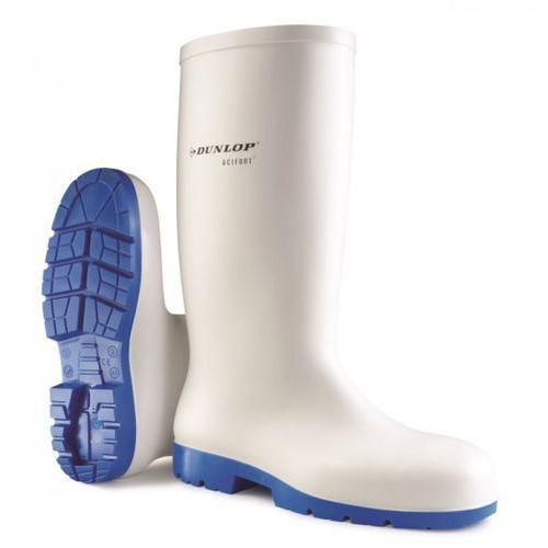 Buty gumowe Acifort Dunlop, białe