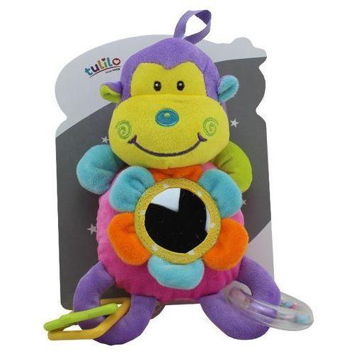 Grzechotka z dodatkami New Baby Małpka 23 cm (5902002060868)