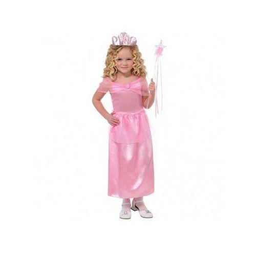 Kostium Różowa Księżniczka dla dziewczynki - 5/7 lat (116), kolor różowy