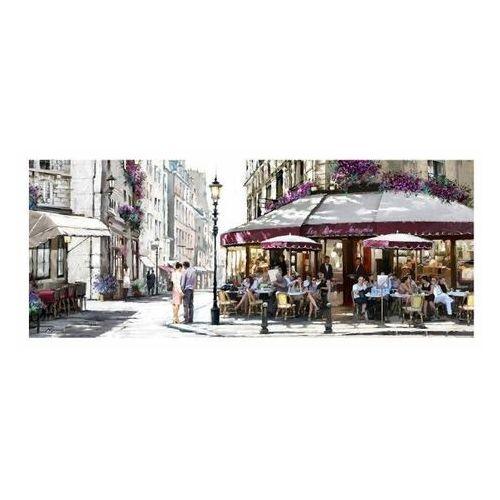 Obraz Canvas Street Coffee 60 x 150 cm (5902841506879)