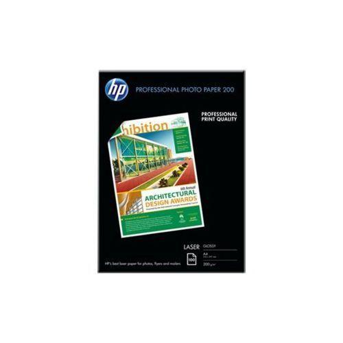 Papier fotograficzny HP Professional Laser, błyszczący, 200 g/m2 – 100 arkuszy/A4/210 x 297 mm CG966A