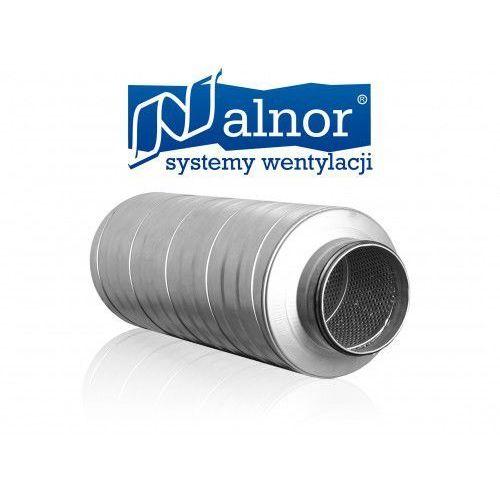 Tłumik akustyczny prosty 400mm z izolacją 50mm (1000mm) (sil-50-400-1000) od producenta Alnor