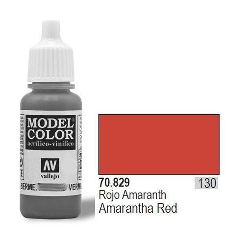 Vallejo Farba nr130 amaranth red 17ml