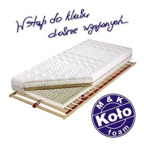 M&k foam koło Materac waikiki - m&k koło, rozmiar - 90x200 cm, pokrowiec - soya - negocjuj ceny