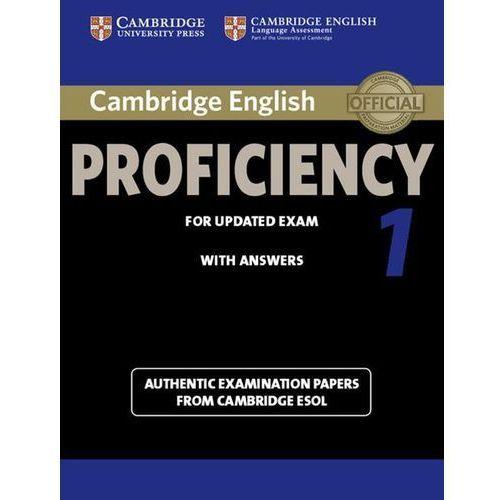 Cambridge English Proficiency 1 Podręcznik z Kluczem, Cambridge ESOL