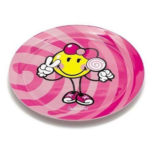 Zak! designs - talerzyk dla dziewczynki smiley kid marki Zak!designs