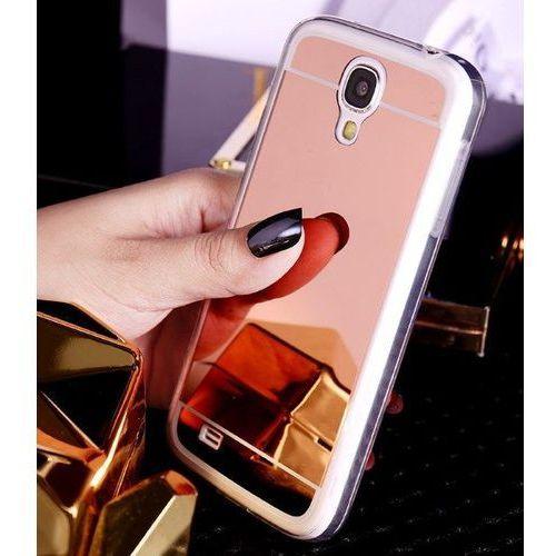 Slim Mirror Case Różowy | Etui dla Samsung Galaxy S4 - Różowy, kolor różowy