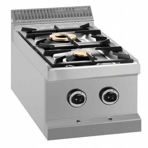 Kuchnia gazowa 2 palnikowa | 9500w marki Mbm