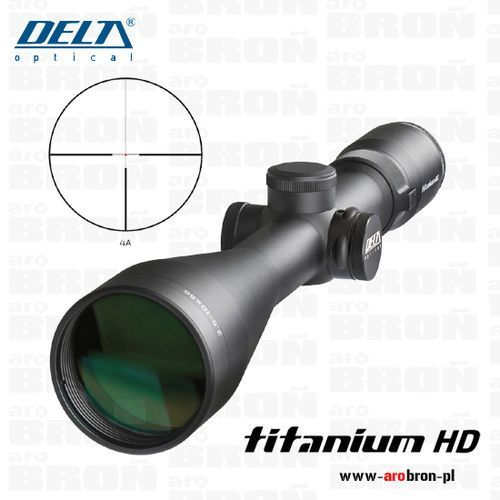Luneta celownicza myśliwska Delta Optical Titanium 2,5-10x56 HD Di DO-2451 10 LAT GWARANCJI