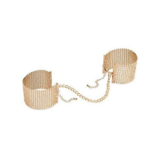 Bijoux indiscrets (sp) Kajdanki z łańcuszkiem w złotym kolorze złote | 100% dyskrecji | bezpieczne zakupy
