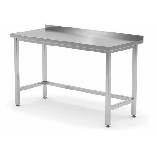 Polgast Stół przyścienny wzmocniony bez półki   szer: 400-1900mm gł. 600 mm