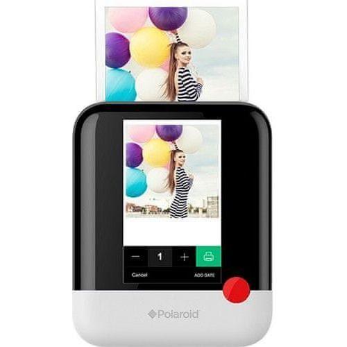 Polaroid pop instant digital white