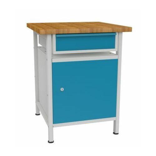Metalowy stół warsztatowy roboczy stw112 600mm marki Malow