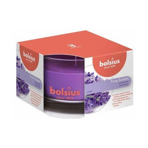 Bolsius Świeca zapachowa w szkle true scents lawenda (8717847136121)
