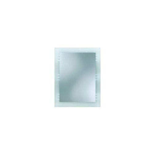 Dubiel vitrum Lustro łazienkowe z oświetleniem wbudowanym victor ii 60 x 77