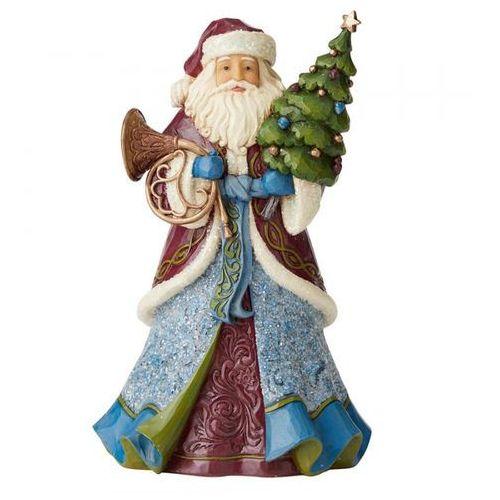 """Jim shore Mikołaj """"boże narodzenie jest blisko"""" - wiktoriańska kolekcja - 6004179 figurka ozdoba świąteczna"""