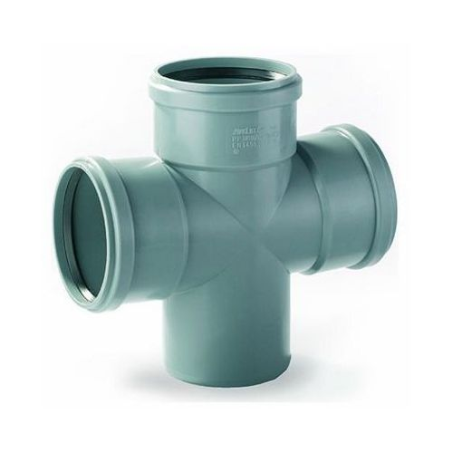 Pipelife Czwórnik do kanalizacji wewnętrznej 88° 110 x 110 mm (5905485412964)
