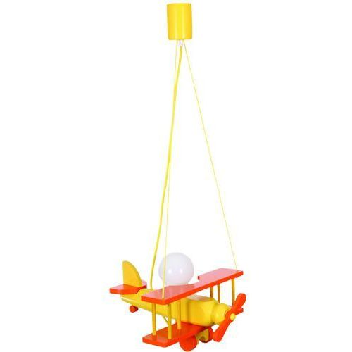Lampex Lampa wisząca samolot pomarańcz producent (5902622102504)