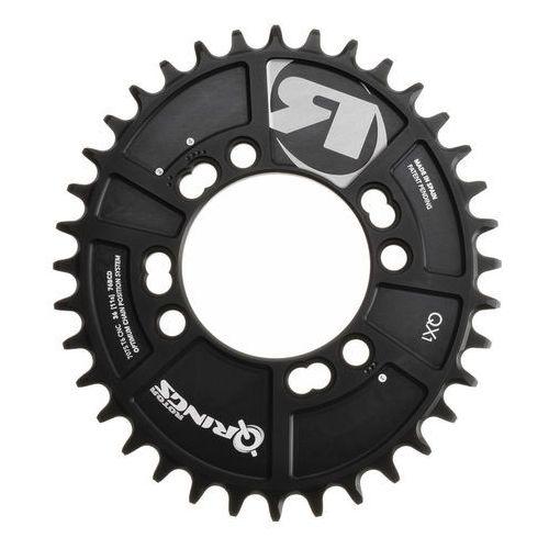 Rotor Q-Ring QX1 MTB Zębatka rowerowa 76mm 1 rz. czarny 36 zębów 2018 Zębatki przednie (8434366001241)