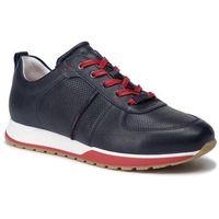 Sneakersy WOJAS - 9021-56 Granatowy, kolor niebieski