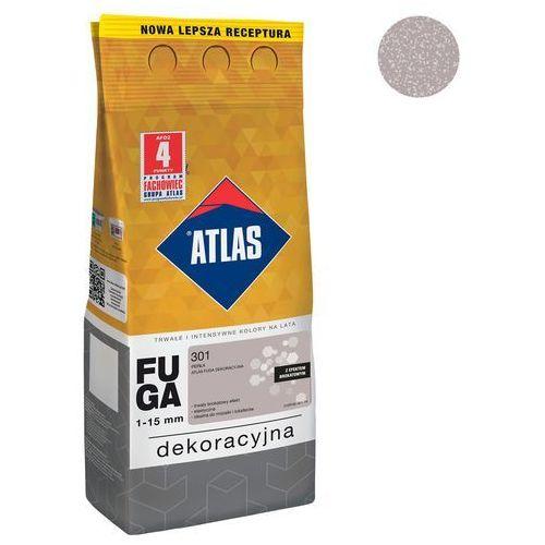 Fuga cementowa BROKATOWA 301 perła 2 kg ATLAS (5905400274882)