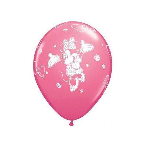 Balony urodzinowe Myszka Minnie - 30 cm - 6 szt
