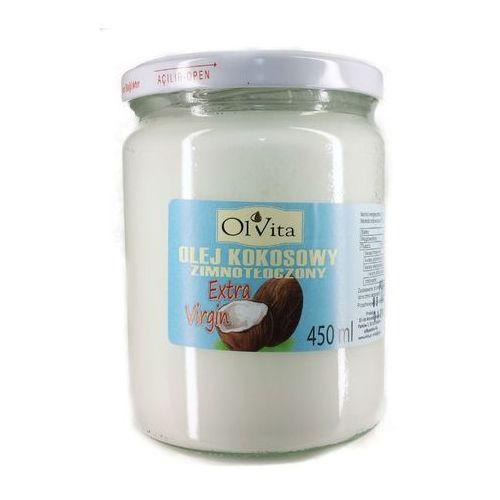 Ol'vita Olej kokosowy tłoczony na zimno 450ml - olvita