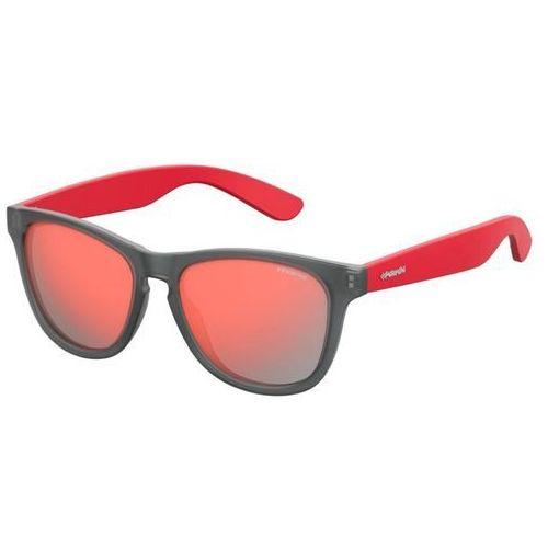 Polaroid Okulary Przeciwsłoneczne P8443 Red, kolor żółty