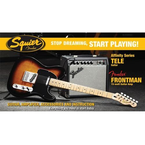 FENDER SQUIER AFFINITY PACK TELECASTER 15G BSB, towar z kategorii: Gitary elektryczne