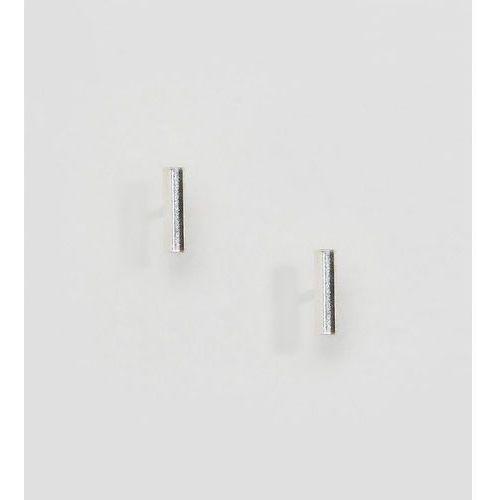 Kingsley Ryan Sterling Silver Bar Ear Stud Earrings - Silver