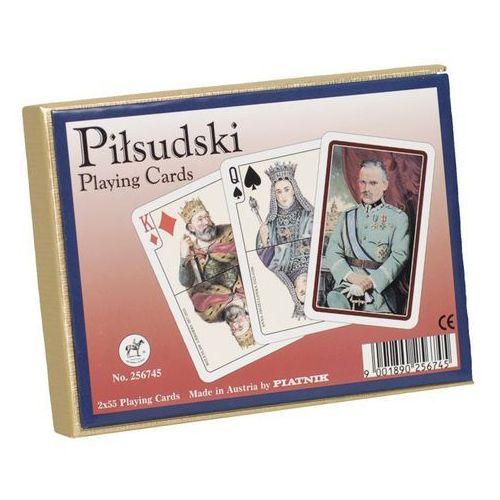 Piłsudski karty do gry podwójne (9001890256745)