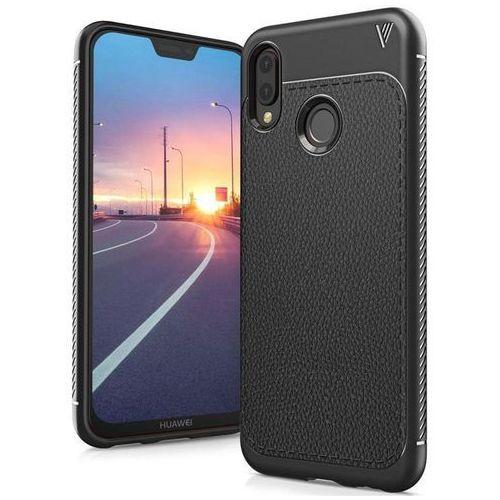 TECH-PROTECT TPULeather Black | Obudowa dla Huawei P20 Lite (99952280)