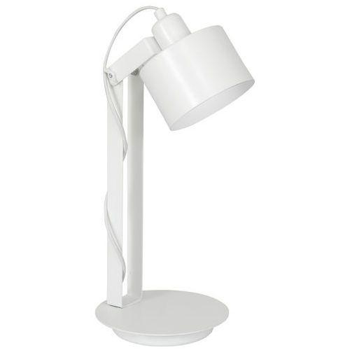 Lampka biurkowa table lamps 8980 lampa stołowa 1x60w e27 biała marki Luminex