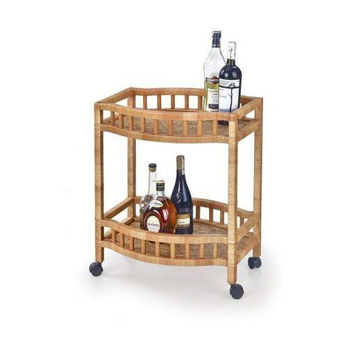 Wiklinowy stolik barowy  bar9 - wiklina marki Halmar