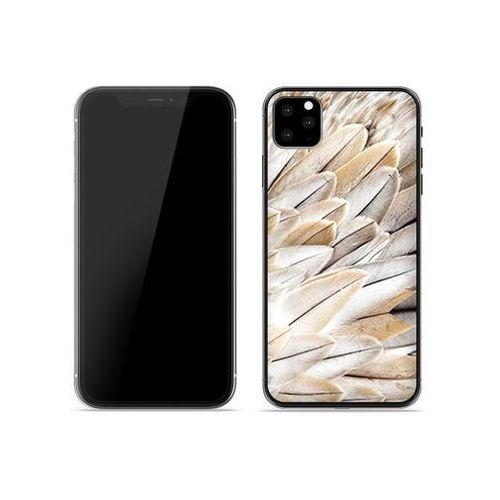 Apple iPhone XIR - etui na telefon Foto Case - białe pióra, kolor biały