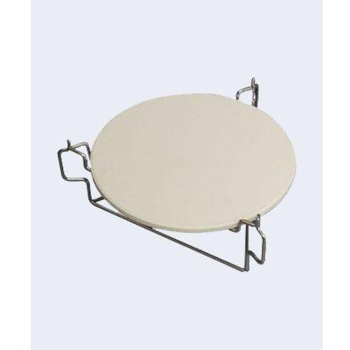 Kamado Kamień do pizzy z podstawką do grilla - grill kamado compact