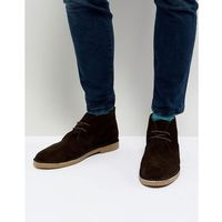 Dune desert boots in brown suede - brown