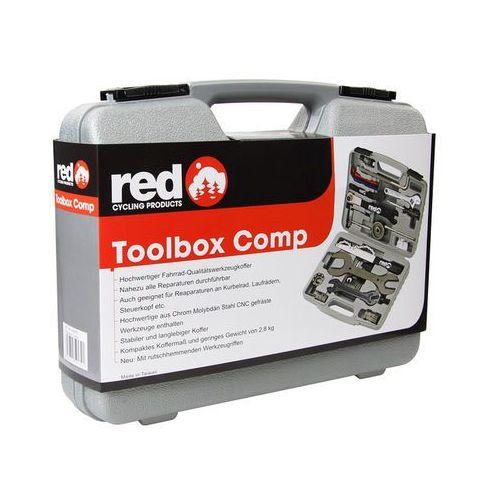 Red cycling products toolbox comp narzędzie rowerowe srebrny zestawy narzędzi (4250355591791)