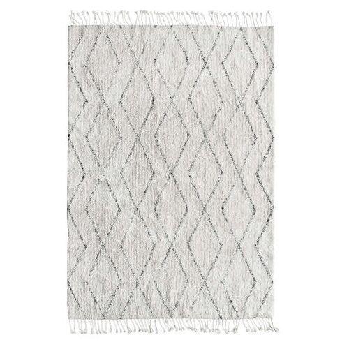 dywan berber z bawełny i frędzlami (140x200) ttk3010 marki Hkliving