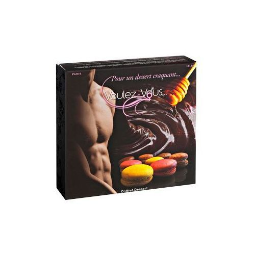 Smakowity zestaw olejków i pyłków do ciała voulez-vous... - gift box desserts marki Voulez vous paris