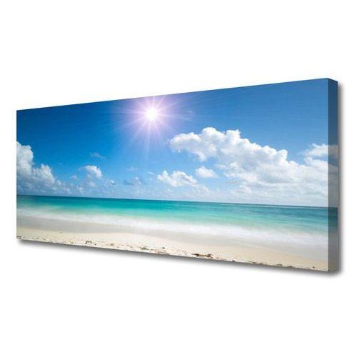 Obraz na płótnie morze plaża słońce krajobraz marki Tulup.pl