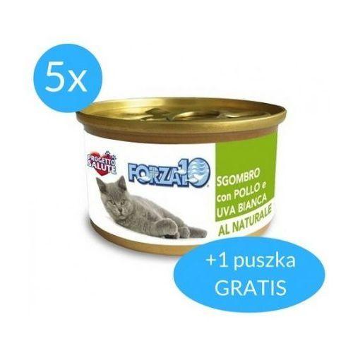 Forza10 Maintenance dla kota 5x75g + 75g GRATIS (450g): smak - makrela z kurczakiem DOSTAWA 24h GRATIS od 99zł, 0425375