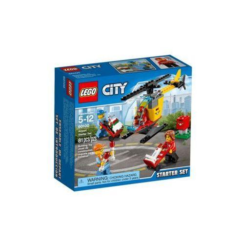 60100 LOTNISKO ZESTAW STARTOWY Airport Starter Set KLOCKI LEGO CITY. Najniższe ceny, najlepsze promocje w sklepach, opinie.