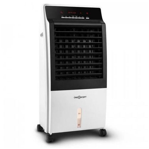 Oneconcept Ctr-1 heat klimatyzator przenośny 4-w-1 funkcja chłodzenia i grzania schładzacz powietrza 2000w biały