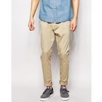 chinos heywood slim tapered fit khaki - beige, Dr denim