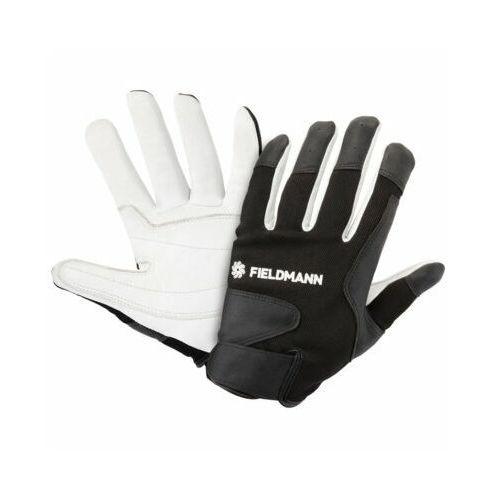 Rękawice ogrodowe fzo 7010 czarno-biały (rozmiar xl) marki Fieldmann
