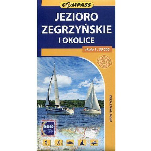 Jezioro Zegrzyńskie i okolice mapa turystyczna 1:50 000, praca zbiorowa